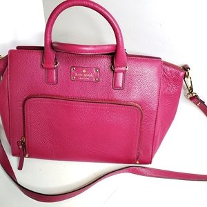 Kate Spade Mulberry Pebbled Leather Bag